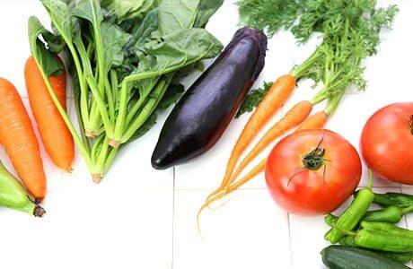 不足しがちな野菜
